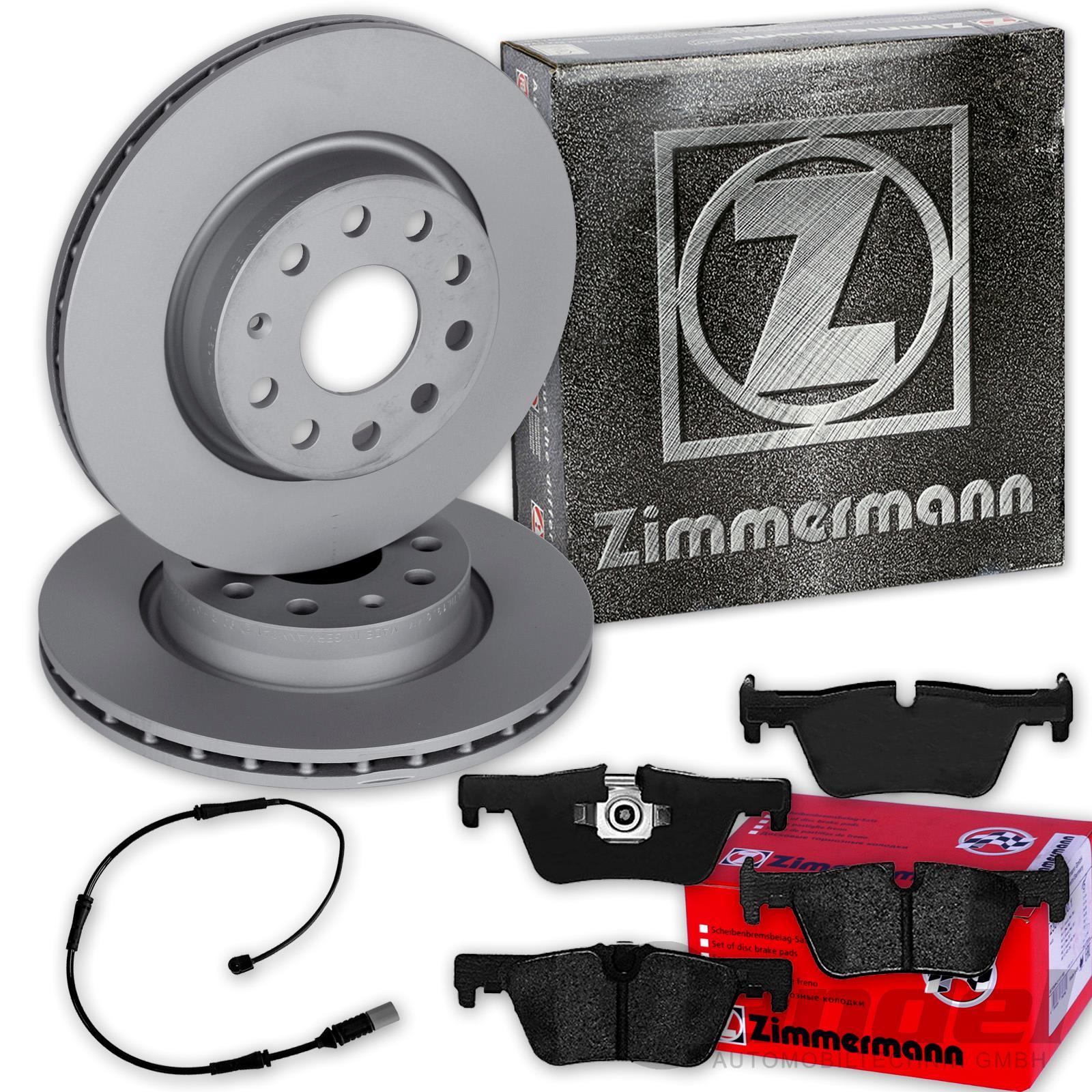 Zimmermann SPORT Bremsscheiben Satz BMW F22 F30 F31 F34 F32 F33 F36 vorne