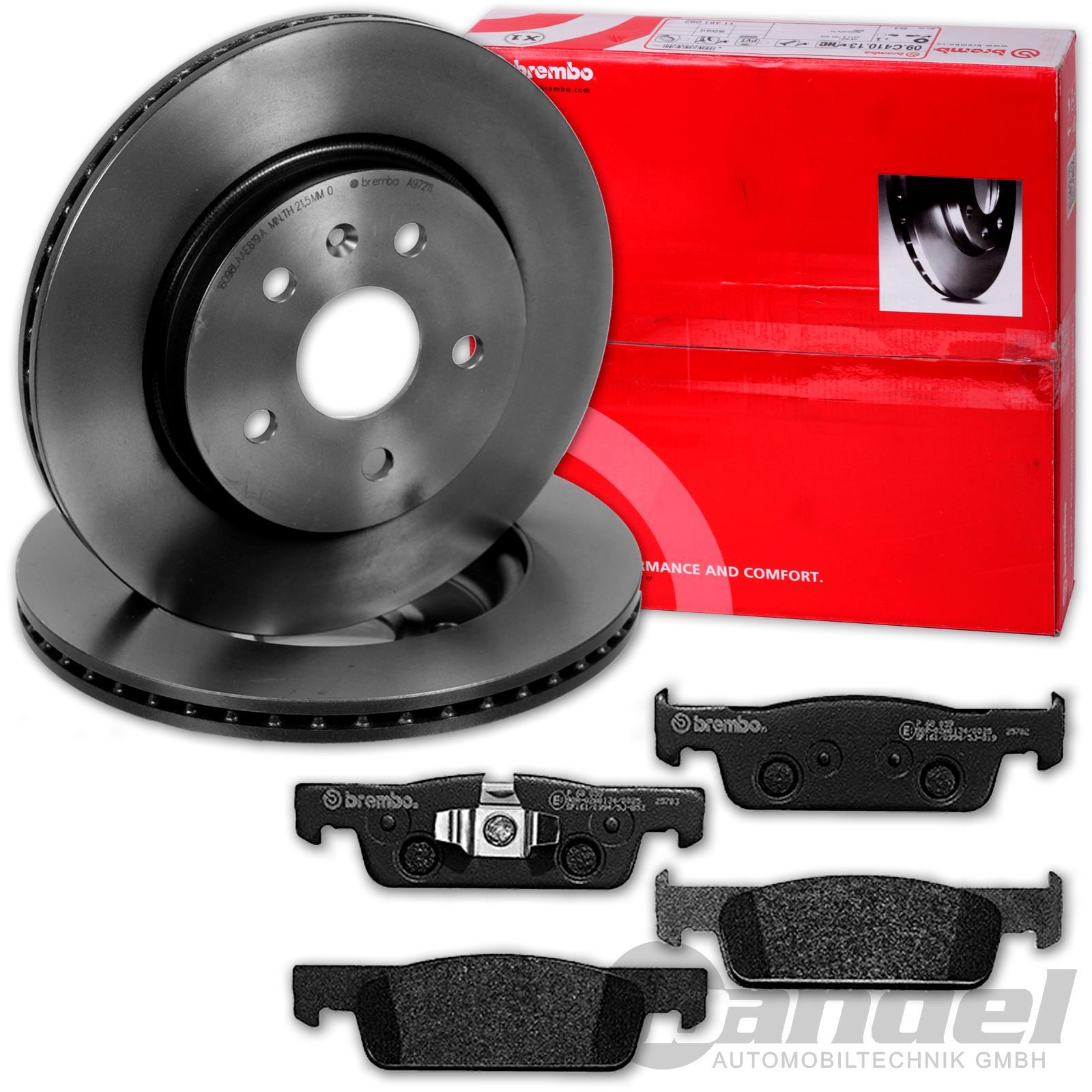 RENAULT CLIO I 1.8 SET 2 Bremsscheiben 4 Bremsbeläge vorne vorn Vorderachse
