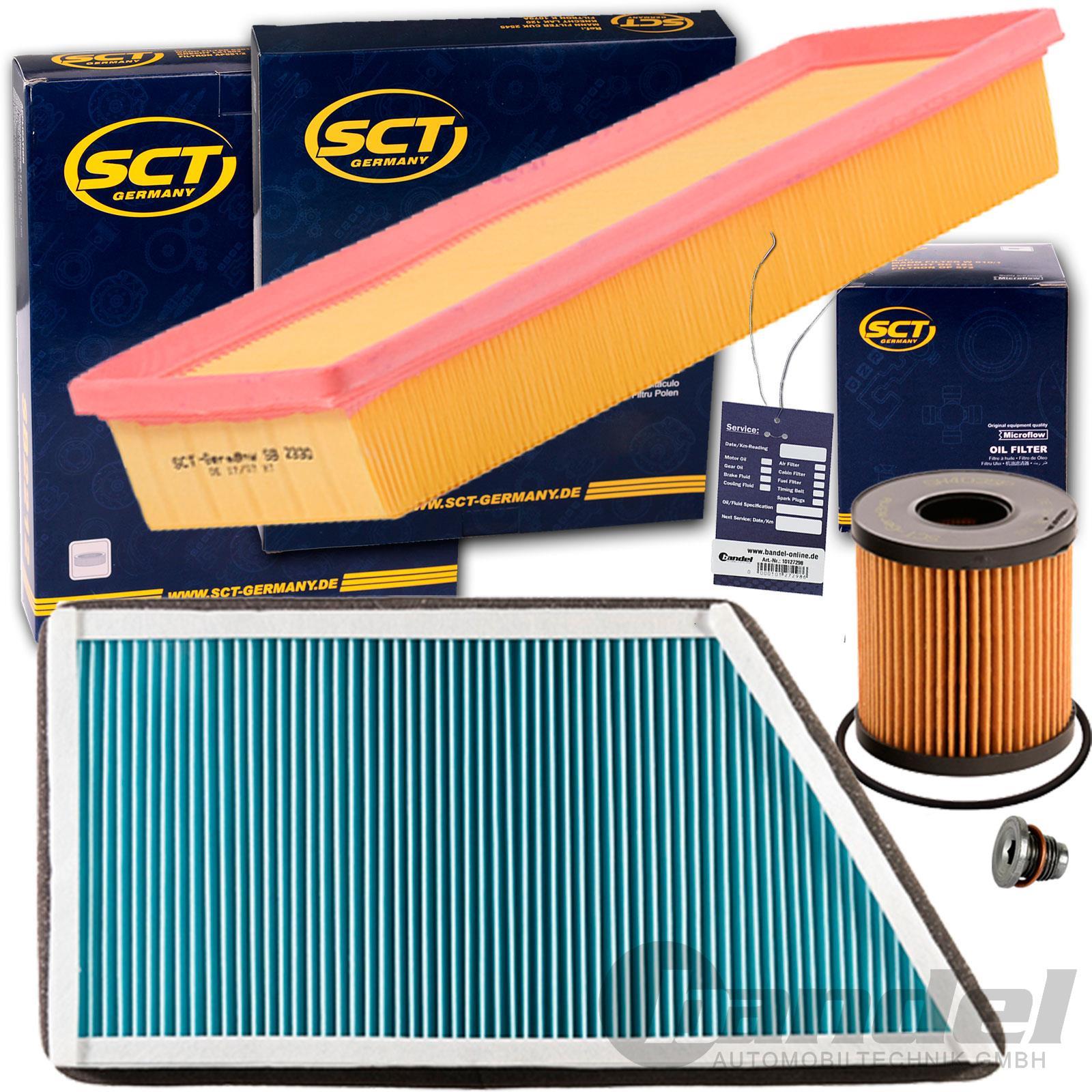 Ölfilter Luftfilter Innenraumfilter Filtersatz Inspektions-Set für PEUGEOT 206