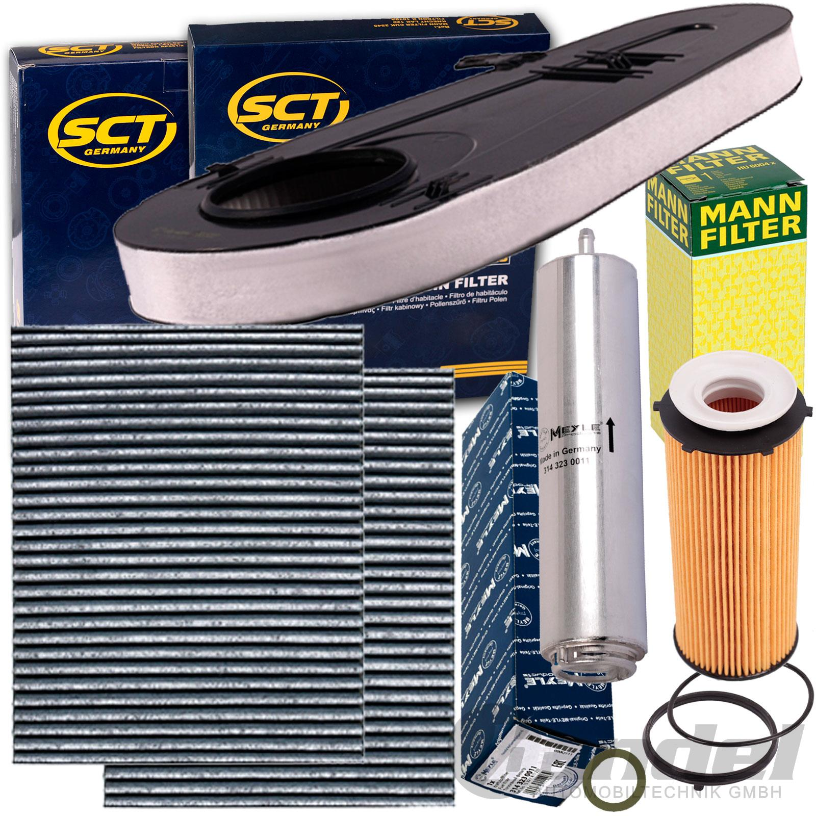 Inspektionspaket Filter Set BMW 5 7 F10 F11 F07 530 535 730 740 d xDrive