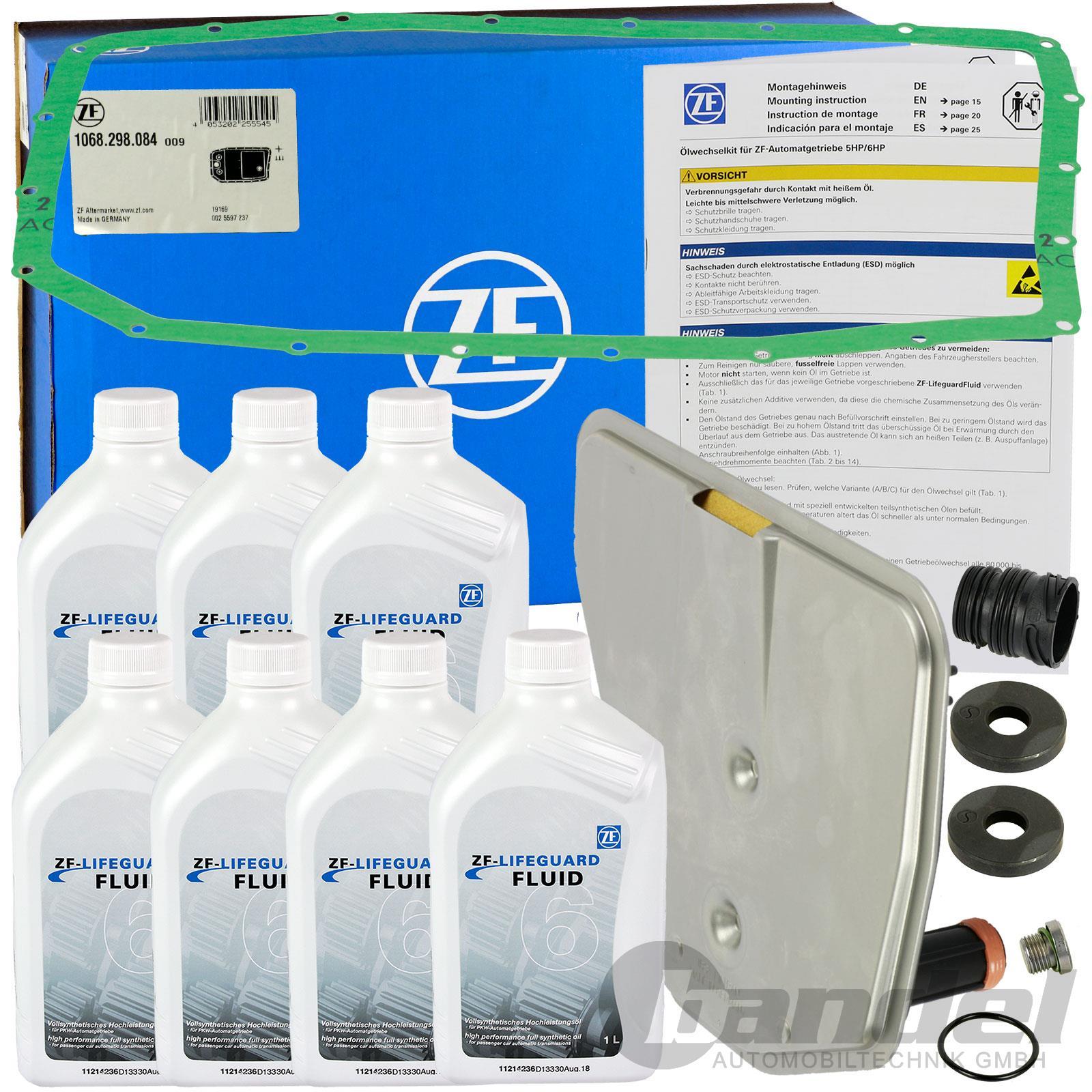 ZF GETRIEBE Hydraulikfiltersatz Automatikgetriebe BMW X3 E83 X5 E53