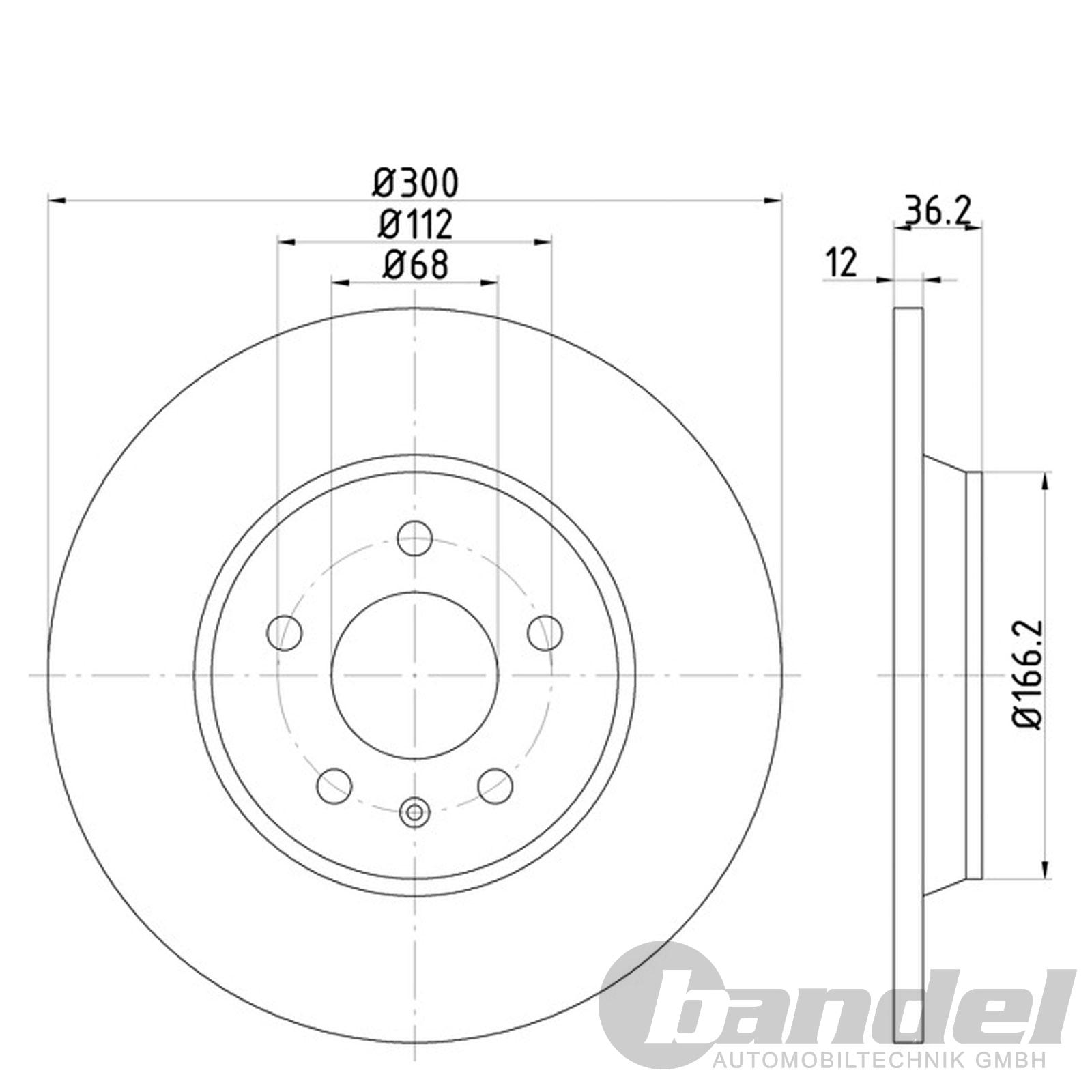 bremsscheiben bremsbel ge audi q5 8r vorne 320mm. Black Bedroom Furniture Sets. Home Design Ideas