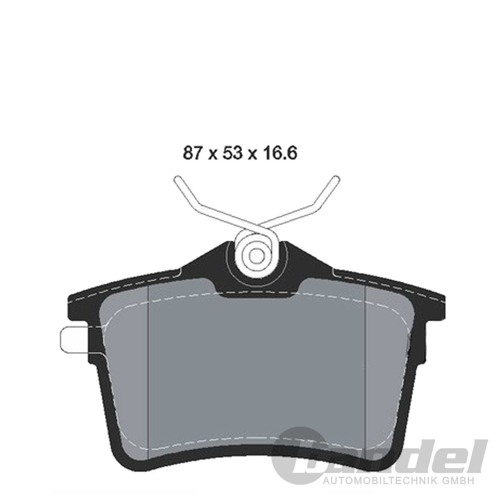 bremsscheiben bel ge vorne hinten peugeot 308 sw. Black Bedroom Furniture Sets. Home Design Ideas