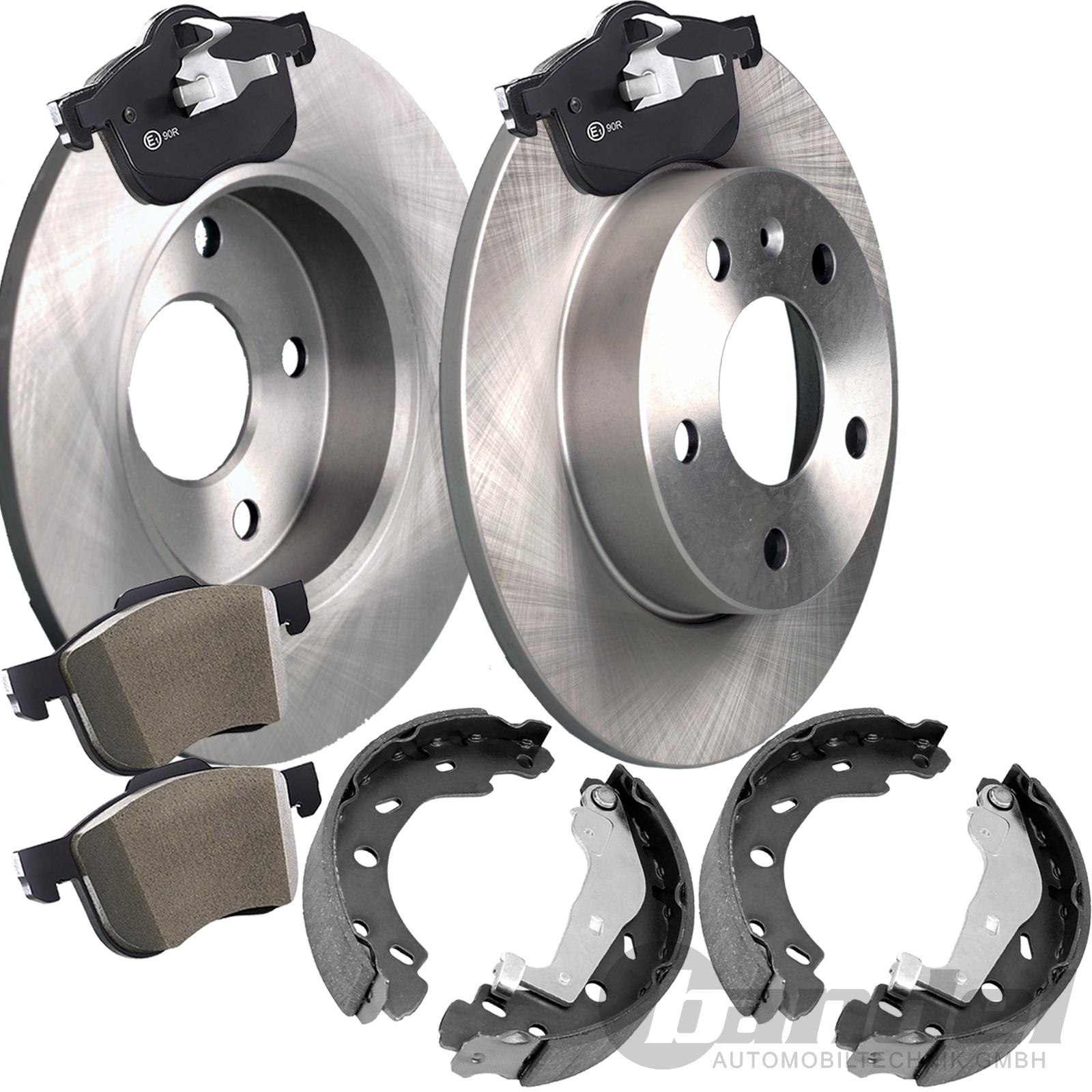 2 Bremsscheiben Ø 273mm Bremsbeläge Bremse vorne für Mazda 6 GG GY 1.8