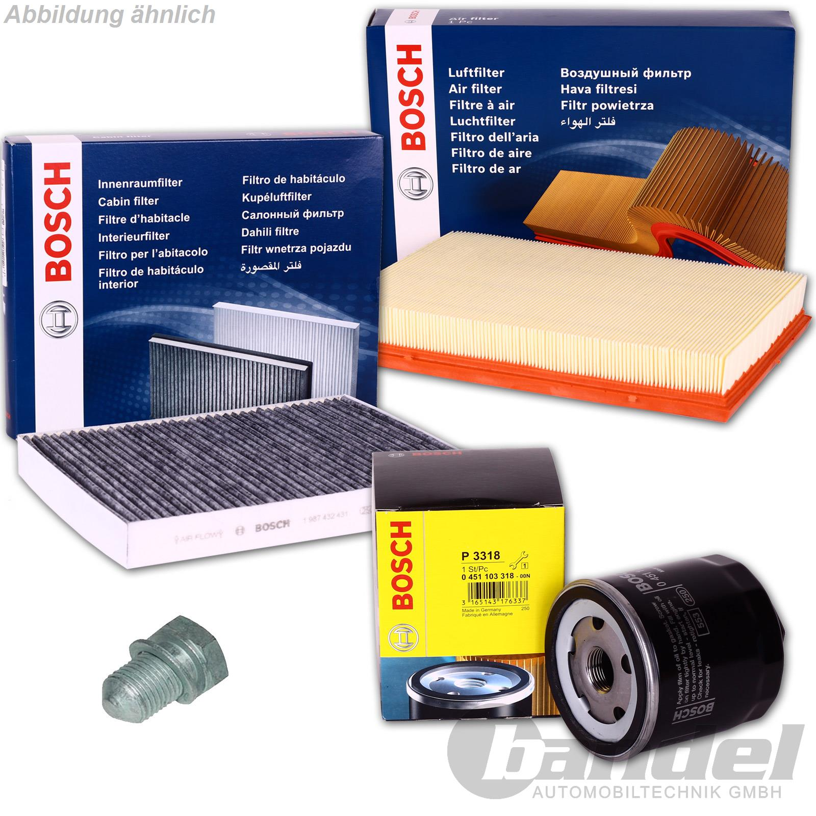 bosch filter set vw golf 4 audi a3 1 9 tdi l luft. Black Bedroom Furniture Sets. Home Design Ideas