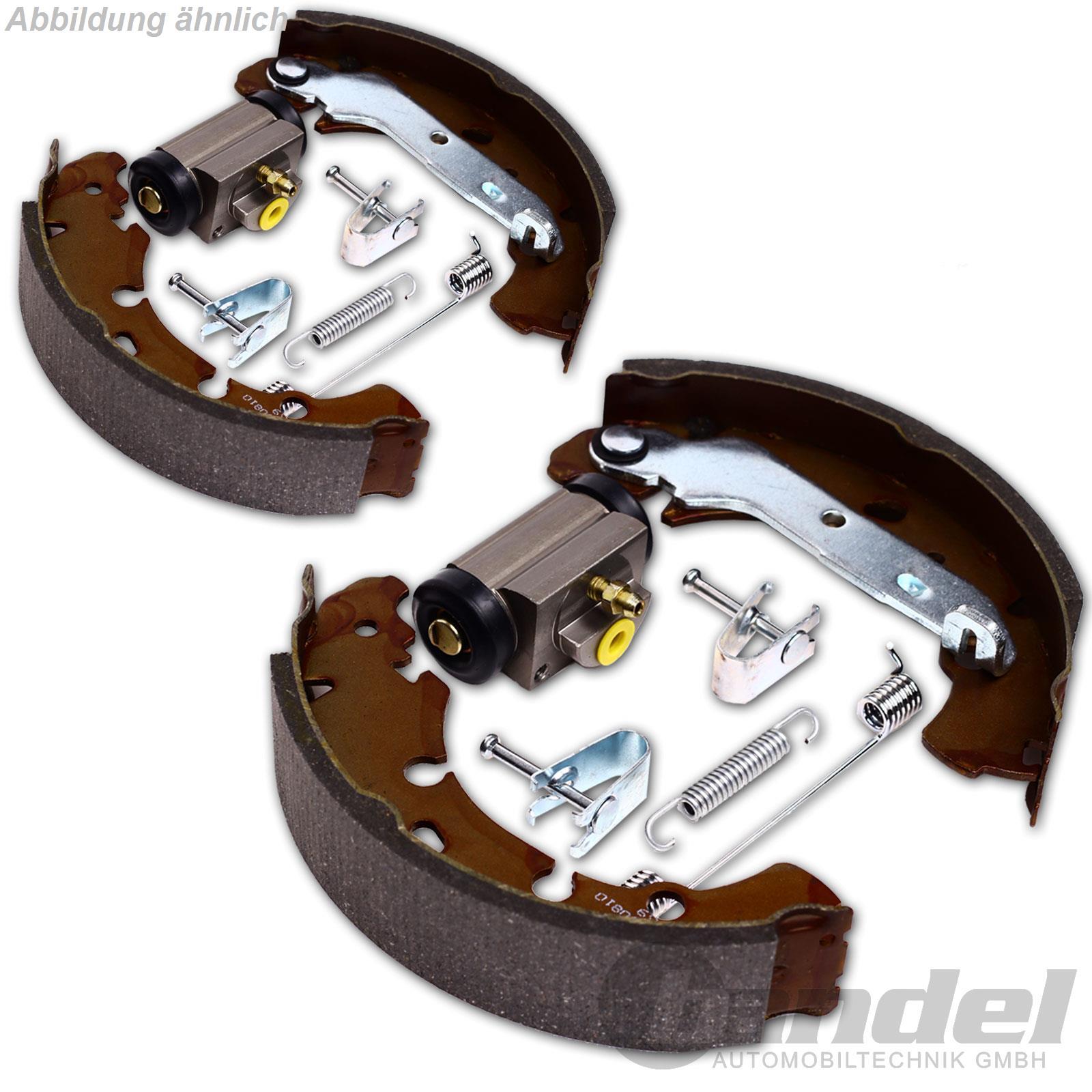 Trommelbremsen Bremsbacken Radzylinder Zubehör VW T4 Bus Transporter Kasten