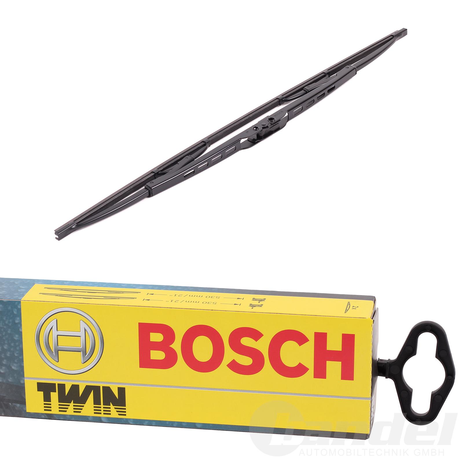 BOSCH TWIN SCHEIBENWISCHER VORNE 651U 650mm CITROEN C1 TOYOTA AYGO ...