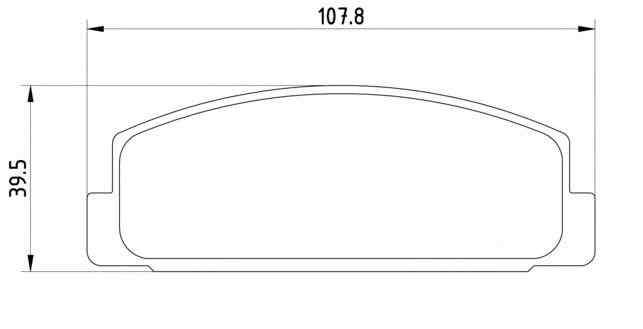 4 bremsscheiben bel ge vorne hinten mazda 6 gg gy 2 0. Black Bedroom Furniture Sets. Home Design Ideas