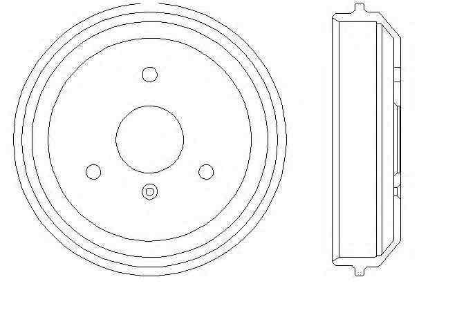 bremsscheiben bremstrommeln bremsbel ge vorne hinten. Black Bedroom Furniture Sets. Home Design Ideas