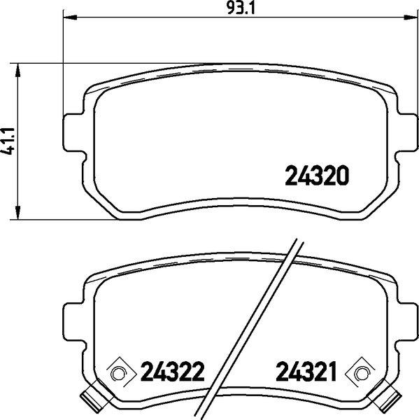 für Mercedes-Benz Bremsbeläge Hinten u.a ATE2 Bremsscheiben Voll 330 mm