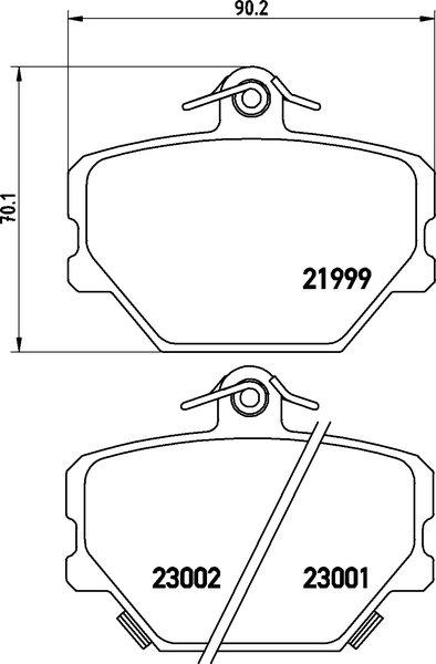 textar bremsscheiben 280mm voll   bel u00c4ge vorne smart
