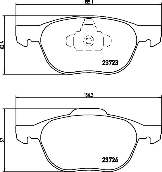4 textar bremsscheiben bel ge vorne hinten mazda 3 bk. Black Bedroom Furniture Sets. Home Design Ideas