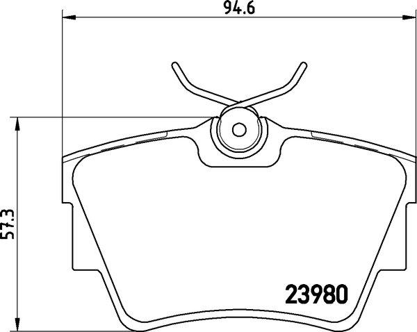 textar bremsscheiben 280mm bremsbel u00c4ge hinten nissan opel