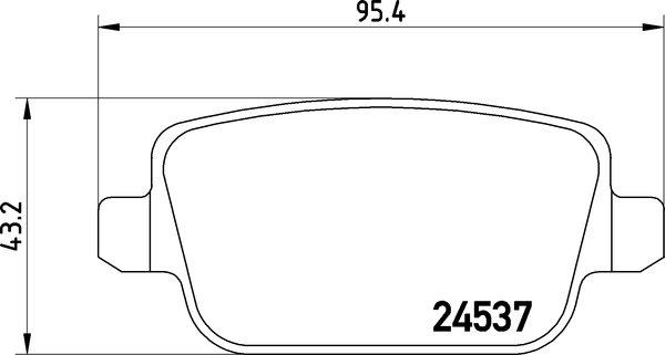 textar bremsbel ge hinten ford galaxy kuga mondeo 4. Black Bedroom Furniture Sets. Home Design Ideas