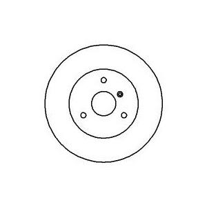 2 BREMSSCHEIBEN 280mm + BELÄGE VORNE SMART FORTWO CABRIO 450 452 Pic:1