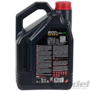 5L MOTUL 8100 X-CLEAN EFE 5W-30 ÖL 107206 BMW LL 04 ACEA C2 C3 DEXOS 2 Pic:1