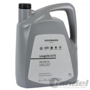 5 Liter ORIGINAL VW AUDI SEAT SKODA 0W-30 ÖL LongLife 3 III FE NACHFOLGER 5W-30 Pic:1