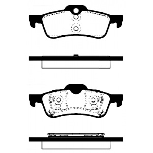 BREMSSCHEIBEN + BREMSBELÄGE VORNE + HINTEN MINI R50 R53 + Cabrio R52 2001-2007 Pic:4