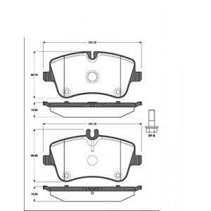 2 BREMSSCHEIBEN 288mm + BELÄGE VORNE MERCEDES C-KLASSE W203 CLK S203 T-MODELL Pic:2