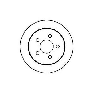 BREMSSCHEIBEN 278mm + BELÄGE HINTEN OPEL SINTRA + CHEVROLET PONTIAC TRANS SPORT Pic:1