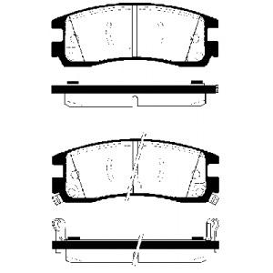 BREMSSCHEIBEN 278mm + BELÄGE HINTEN OPEL SINTRA + CHEVROLET PONTIAC TRANS SPORT Pic:2