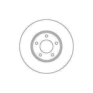 2 BREMSSCHEIBEN 280mm + BELÄGE VORNE für NISSAN ALMERA TINO V10 PRIMERA P12 WP12 Pic:1