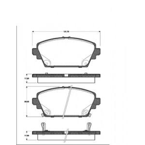 2 BREMSSCHEIBEN 280mm + BELÄGE VORNE für NISSAN ALMERA TINO V10 PRIMERA P12 WP12 Pic:2