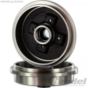 BREMSTROMMELN 200mm + BREMSBACKEN VW GOLF 3 VENTO POLO 6KV2 6KV5 Pic:1