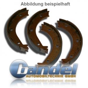 BREMSTROMMELN 228,6mm BREMSBACKEN RADBREMSZYLINDER ZUBEHÖR BMW 3er E30 OHNE ABS Pic:2