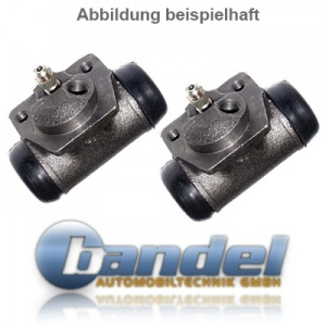 BREMSTROMMELN 180mm BREMSBACKEN RADBREMSZYLINDER ZUBEHÖR VW LUPO MIT ABS Pic:3