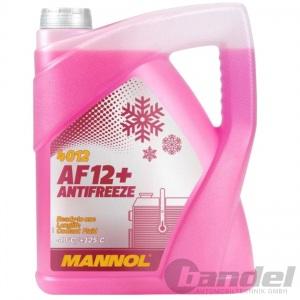 5 LITER MANNOL AF12+ G12+ ROSA/ROT bis -40°C KÜHLERFROSTSCHUTZ VW AUDI
