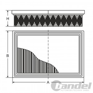 LUFTFILTER NISSAN QASHQAI / QASHQAI +2 I NISSAN X-TRAIL (T31) KOLEOS I (HY_) Pic:1