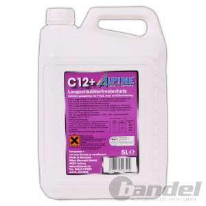 ALPINE KÜHLERFROSTSCHUTZ C12+ KONZENTRAT VIOLETT 5L Antifreeze G12+