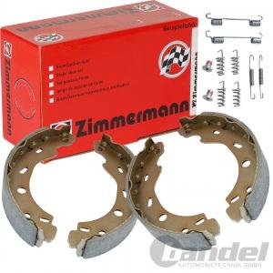 ZIMMERMANN BREMSBACKEN MERCEDES 190 W201 A+B+C+E-KLASSE W169 W245 W202 W210 W124