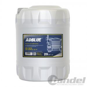 20 Liter AdBlue® MANNOL SCR HARNSTOFFLÖSUNG FÜR DIESEL ABGASREINIGUNG