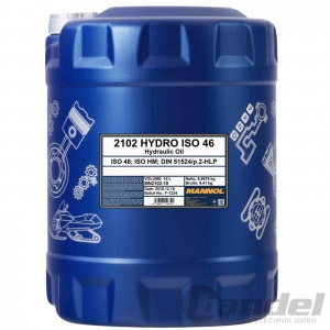 10 Liter Kanister HLP 46 Hydrauliköl/ Hydraulikflüssigkeit DIN 51524