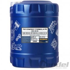 10 Liter SAE 5W-40 MANNOL ENERGY FORMULA PD MOTORÖL API SN/CH-4