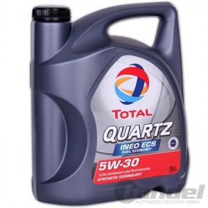 5 Liter TOTAL QUARTZ INEO ECS FUEL ECONOMY 5W-30 MOTORÖL für PEUGEOT CITROEN etc