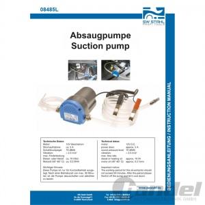 SW-STAHL UNIVERSAL & ÖLABSAUGPUMPE für ÖLWECHSEL saugt Motorenöl Diesel & Heizöl Pic:1