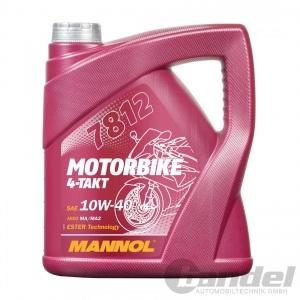 4L MANNOL MOTORBIKE 4-TAKT ESTER 10W-40 SPORT MOTORRAD ÖL MOTORRADÖL