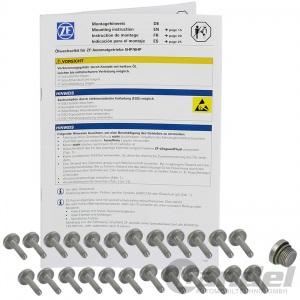 ZF TEILESATZ GETRIEBEFILTER 6HP19 AUTOMATIK  1er E81 3er E90 5er E60 61 6er E64 Pic:2