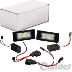 2x LED KENNZEICHENLEUCHTE für VW PASSAT 3C AUDI A1 A4 B8 A5 A6 C7 A7 Q5 Q7 TT 8J