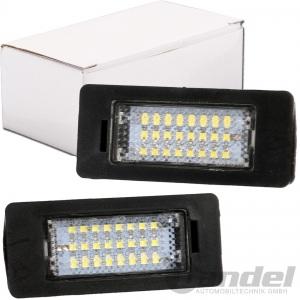 2x LED KENNZEICHENLEUCHTE für BMW 3er E90,E91,E92,E93 5er E39,E60,E61 X6 E71,E72