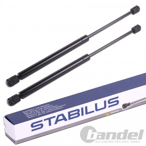 2x STABILUS LIFT-O-MAT GASFEDER HECKKLAPPE SMART FORTWO CITY COUPE 450