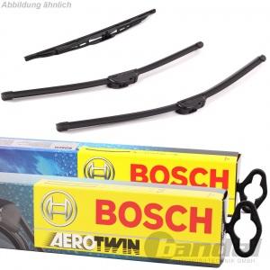 BOSCH AEROTWIN AR531S VORNE+HECKWISCHER H301  RENAULT CLIO II für NISSAN MICRA