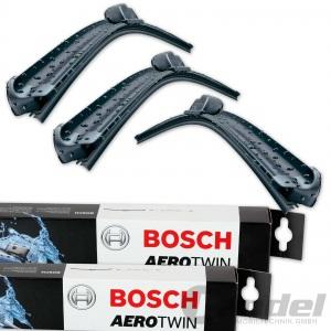 BOSCH AEROTWIN SCHEIBENWISCHER VORNE + HINTEN VW POLO 6R 6C + AUDI A1 Sportback