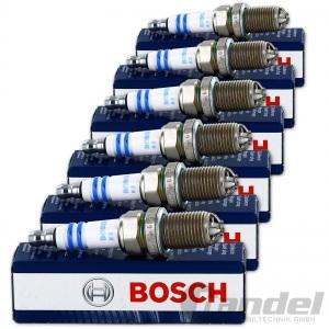 6x BOSCH Zündkerzen Super plus +23  FGR7DQE+ 0242235748 AUDI VW V6