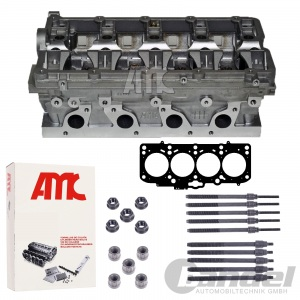 AMC ZYLINDERKOPF +DICHUTNG SCHRAUBEN 2.0 TDI 16V Pumpe-Düse PD VW AUDI SEAT SKOD