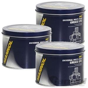 3x 800g MANNOL 8107 EP-2 Multi-MoS2 Grease Universalfett Schmiersto