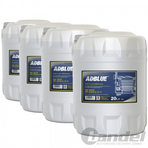 80 Liter AdBlue® MANNOL SCR HARNSTOFFLÖSUNG FÜR DIESEL ABGASREINIGUNG